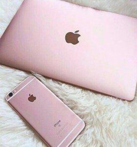 MacBook rose gold новый оригинал