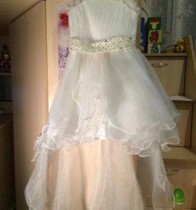 Нарядное платье на выпускной или ....