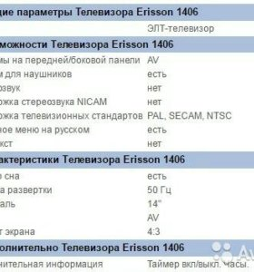 Эриссон 1406 + антенна