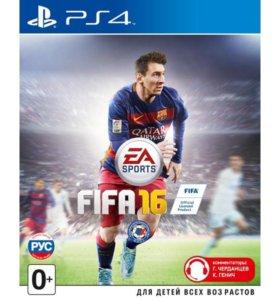 Fifa 16(PS4) либо обмен на Ufc