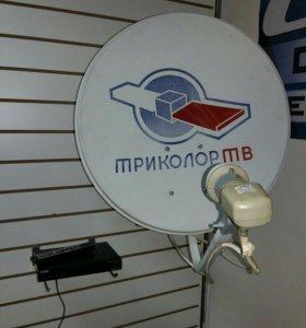 Комплект спутникового телевидения Триколор