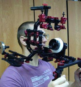 Плечевой упор - риг для видеосъемки