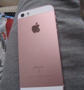 iPhone 5se 16gb (розовое золото)