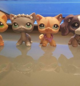 Игрушка Littlest pet shop кокер