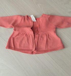 Пакет фирменной одежды на девочку до года  р. 68