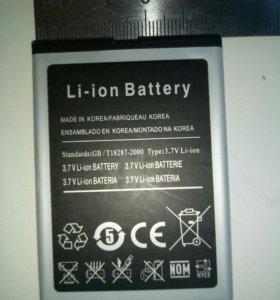 Батарейка на сотовый нов.