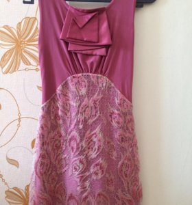 Платье вид спереди и сзади
