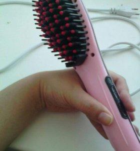 Расчёска-выпрямитель.