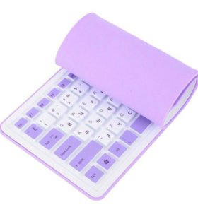 Клавиатура CBR KB-1002D Twister, 107 кл., гибкая,