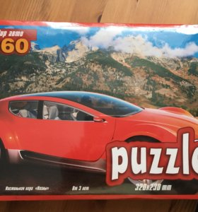 Puzzle,360 деталей (3+)