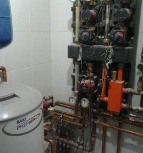 Отопление, водоснабжение.