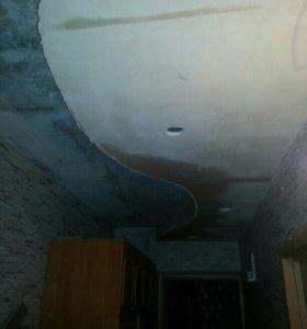 Навесные потолки из ГКЛ
