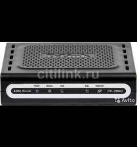 Маршрутизатор D-link DSL-2500U/BRU/D, adsl2+