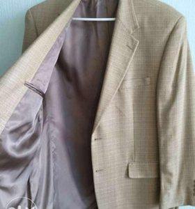 Фирменный пиджак CHAPS 100%silk