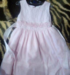 Платье для принцессы.4-5лет
