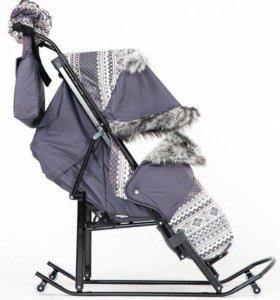Сани коляска