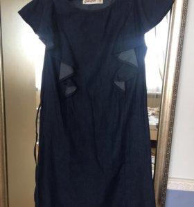 Платье джинс