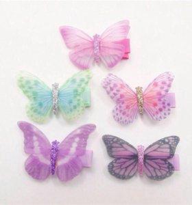 Бабочка для волос