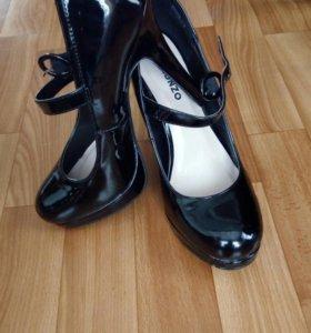 НОВЫЕ!!Туфли лакированные 38р.