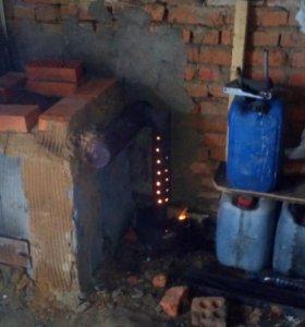 Печка на отработке
