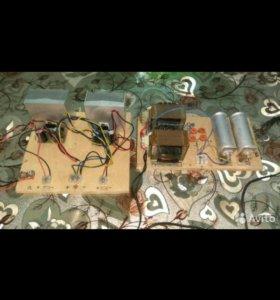 Усилитель звука стерео на двух тда 7294