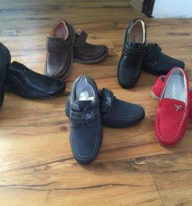Продаются новые мокасины,туфли на мальчика