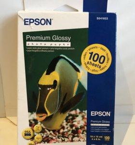 Фотобумага Epson Premium Glossy