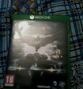 Игра на xbox one Betman Arkham knight