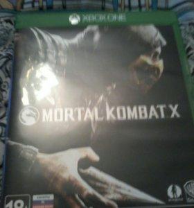 Игра на xbox one Mortal Kombat X