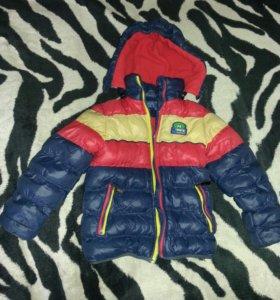 Детская демисезонная куртка.