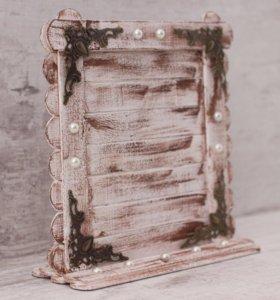 Рамочка для фотографии на подставке