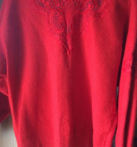 свитер  из ангоры