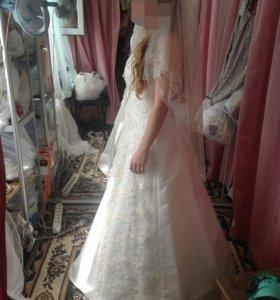 Платье А-силует (с кольцами пышное)
