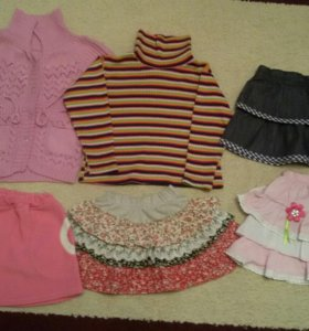 Вещи для девочки 3-4 лет
