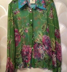 Шелковая блузка Dolce&Gabana