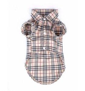 Новая рубашка, размер М, ОГ 40 см. ОШ  30 см.