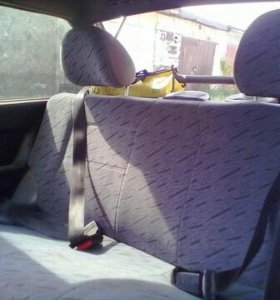 Заднее сиденье на ВАЗ 2114-15