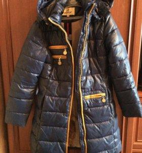 Куртка зима рост 150
