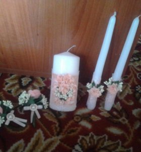 Свадебные свечи на заказ