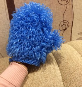 Мочалка-рукавичка