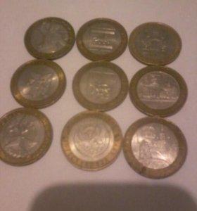 Маленькая колекция монет