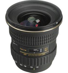 Nikon (Tokina) AF 12-24 f4 в идеале