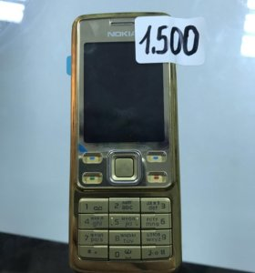 Легендарный золотой Nokia 6300