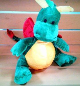 Дракон, Мягкая игрушка 35см.