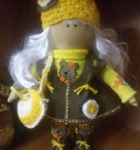 Текстильная куколка на заказ