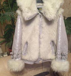 Куртка меховая, зимняя  р.48.