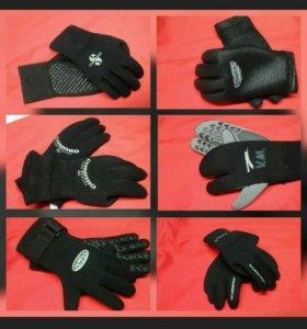 Неопреновые перчатки в ассортименте