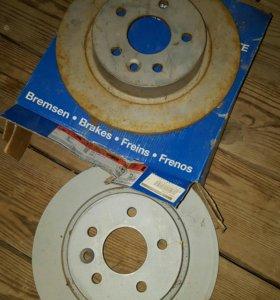 диски тормозные задние форд фокус