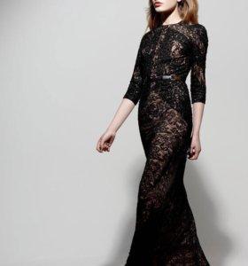 Дизайнерское потрясающее платье в пол р-р 42-44.