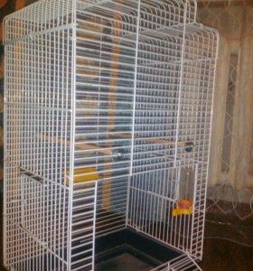 Клетка для птиц(+домик)